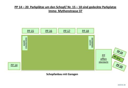 Parkplätze 14-20 bei Schopf