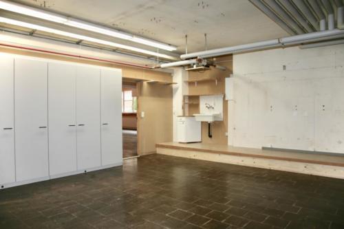 Atelier mit Einbauschrank